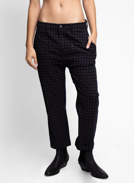 The Great The Saddle Trouser Plaid