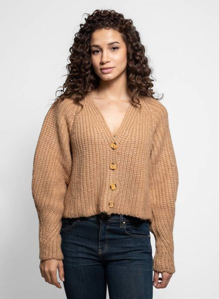 Ulla Johnson Mounia Cardigan Camel