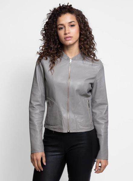 Chapin Jacket Taupe Silver
