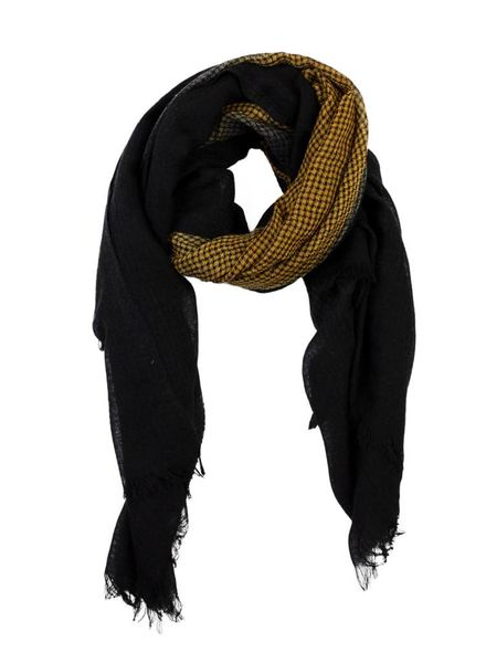 Destin Ginga Sfumato Quadra Scarf Yellow Black