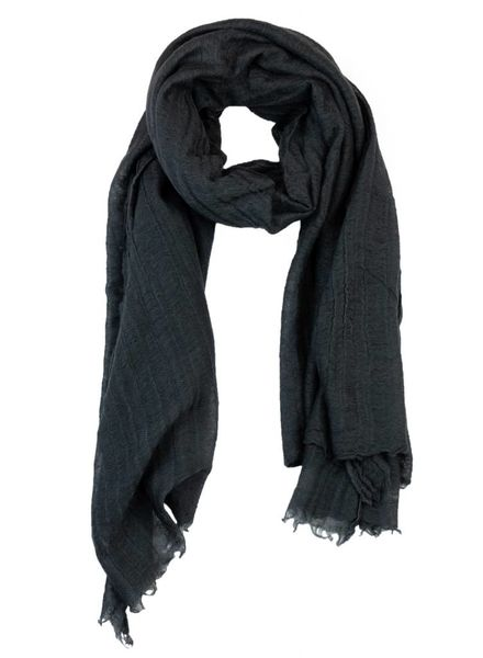 Destin Iris Stole Scarf Steel Grey
