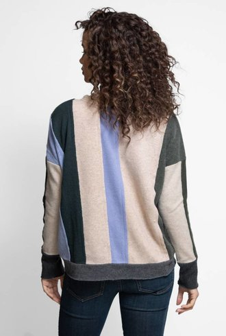 Burning Torch Upcycled Cashmere Sweater Green