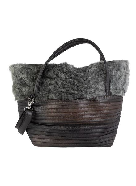 Majo Textured Purse Grigio