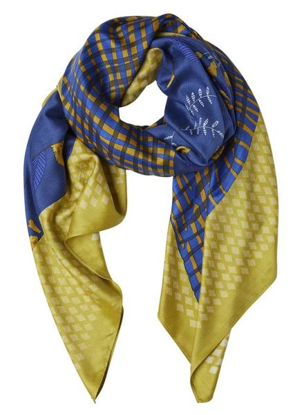 Inouitoosh Mogador Square Scarf Yellow