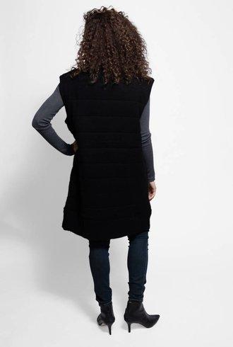 Inhabit Luxe Quilted Vest Black