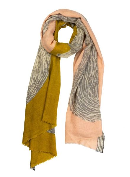 Inouitoosh Ours Scarf Yellow Nude