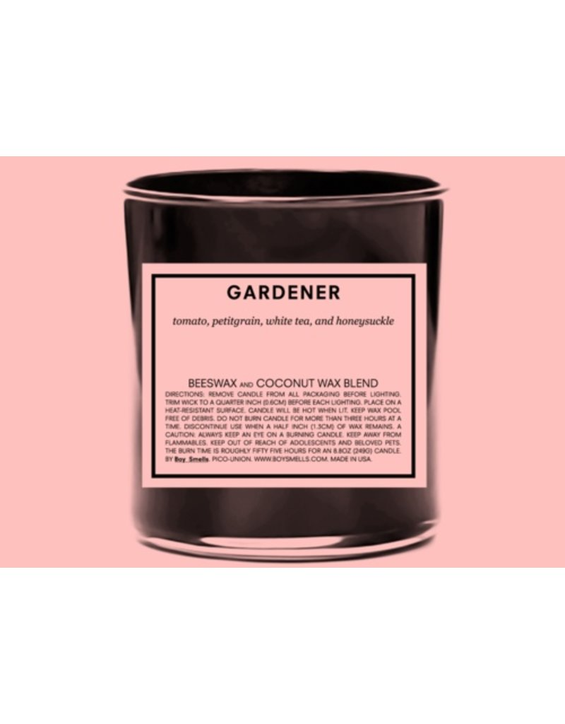 Boy Smells Gardener