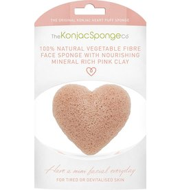 The Konjac Sponge Co Heart Shaped Konjac Sponge