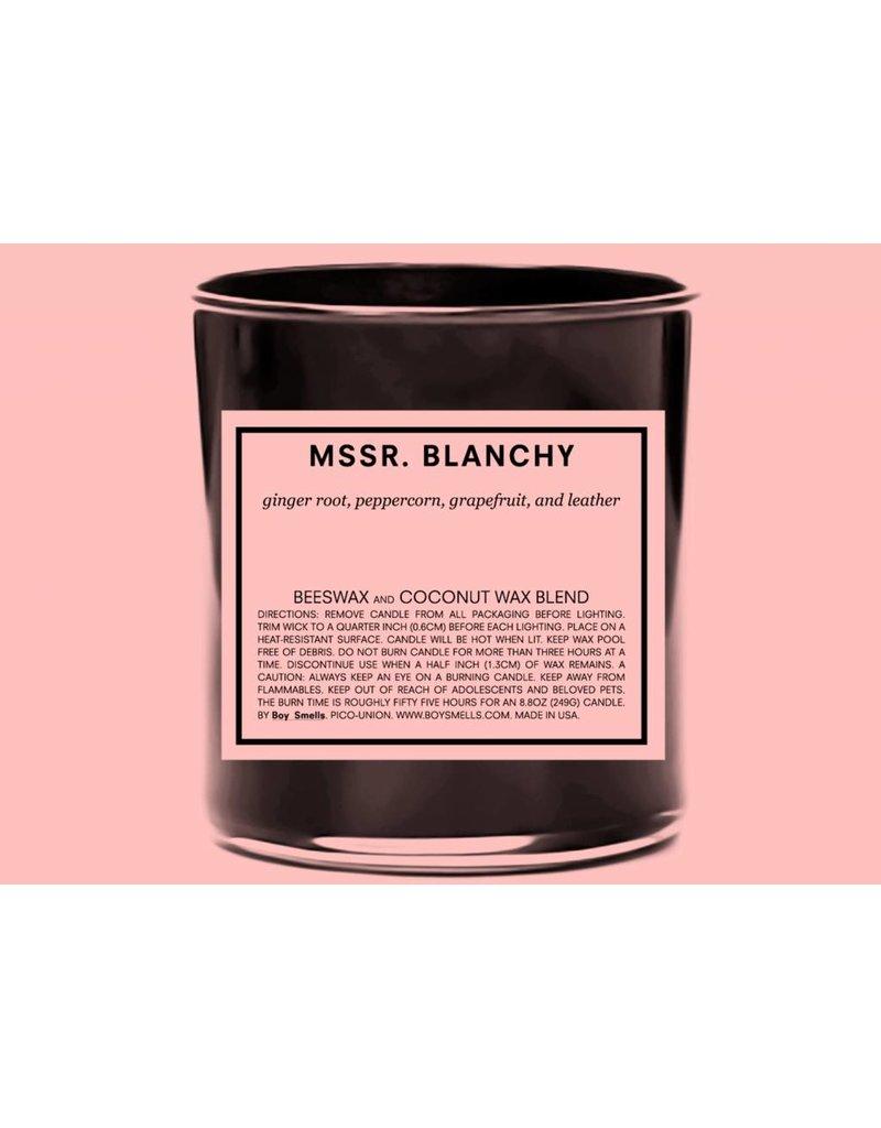 Boy Smells Mssr. Blanchy