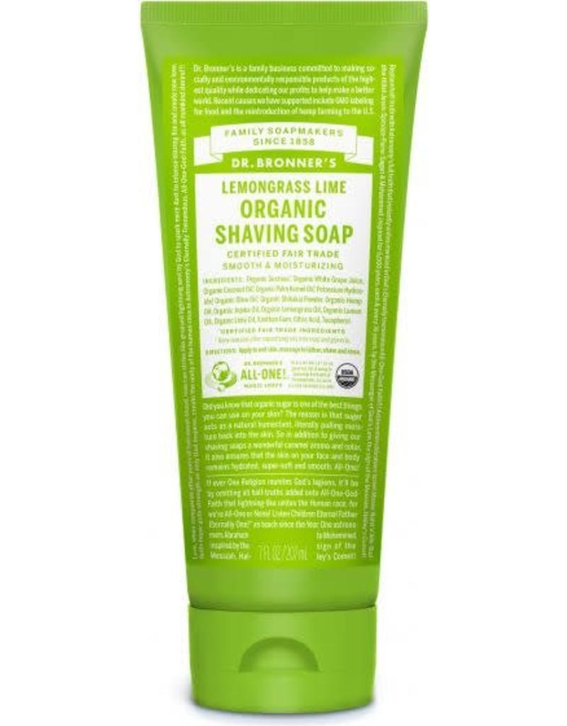 Dr. Bronner's Dr. Bronner's Lemongrass Lime Shaving Soap