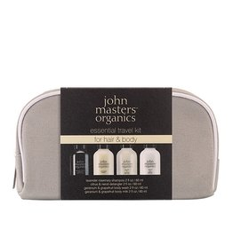 John Masters Essential Travel Kit - for hair & body