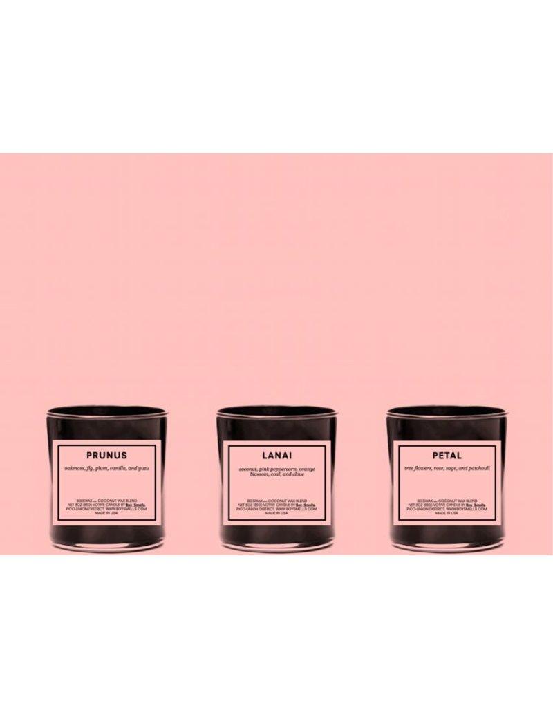 Boy Smells Prunus, Lanai, and Petal Votive Set