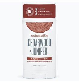 Schmidt's Schmidt's Cedarwood + Juniper Deodorant