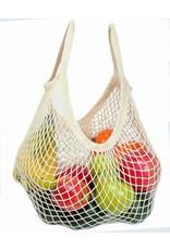 Eco-Bags Organic Un-dyed Cotton String Bag (Short Handle)