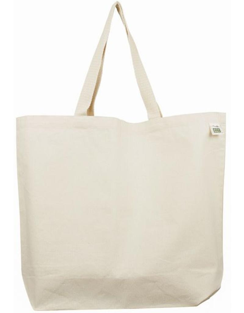 Eco-Bags Recycled Cotton Canvas Tote Bag