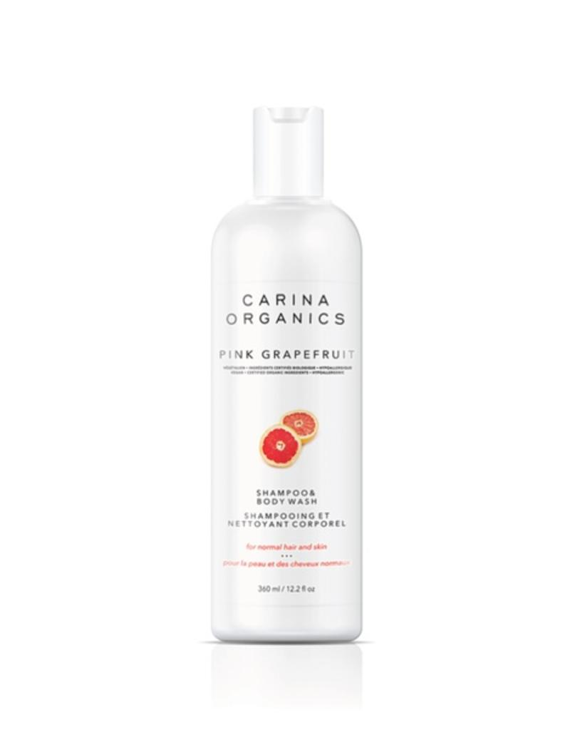 Carina Organics Carina Organics Pink Grapefruit Shampoo & Body Wash