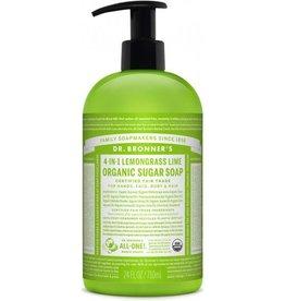 Dr. Bronner's Dr. Bronner's Organic Hand Soap Lemongrass Lime
