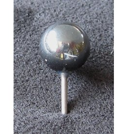 MapTacks.com Hematite Gemstone Map Pins, 24 ea.