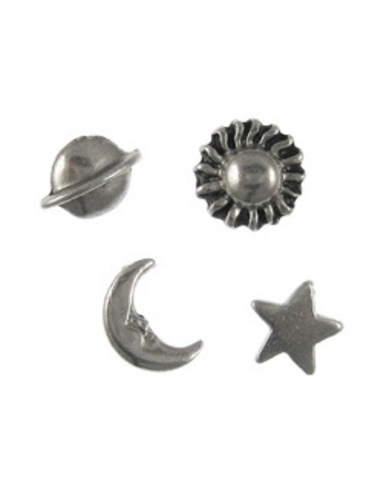 Jim Clift Designs Astronomy Pushpins- Celestial Bodies