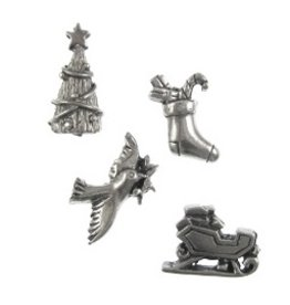 Jim Clift Designs Christmas Themed Pushpins