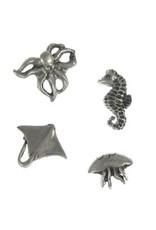 Jim Clift Designs Sea Life Pushpins