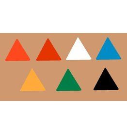 Magna Visual Inc. Magnet Triangles - Choose a color