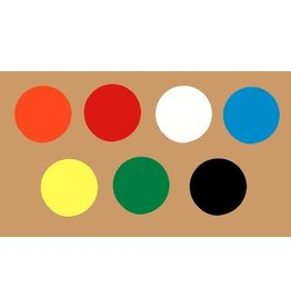 Magna Visual Inc. Magnet Circles - Choose a color