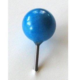 MapTacks.com Turquoise Gemstone Map Pins, 6 ea.