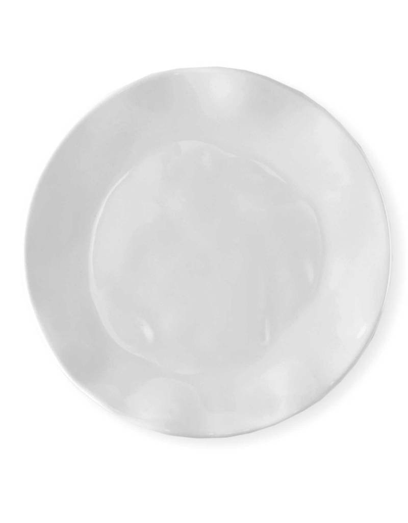 Q Squared Nyc Ruffle Round Dinner Plate