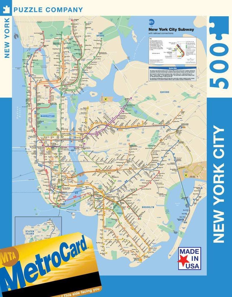 Puzzle - NYC Subway