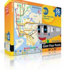 Puzzle - New York City Subway Kids