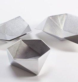 Origami Bowls-Aluminum-Set of 3