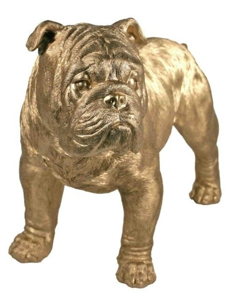 Gold Bulldog Replica
