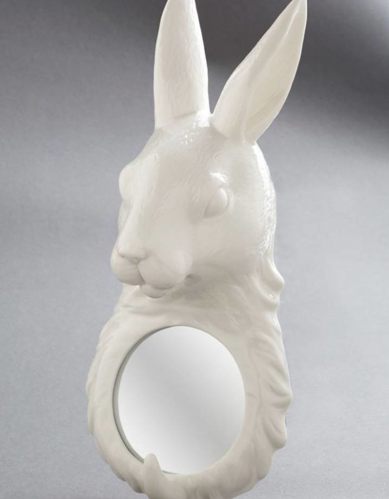 Fable Porcelain Mirror - Rabbit