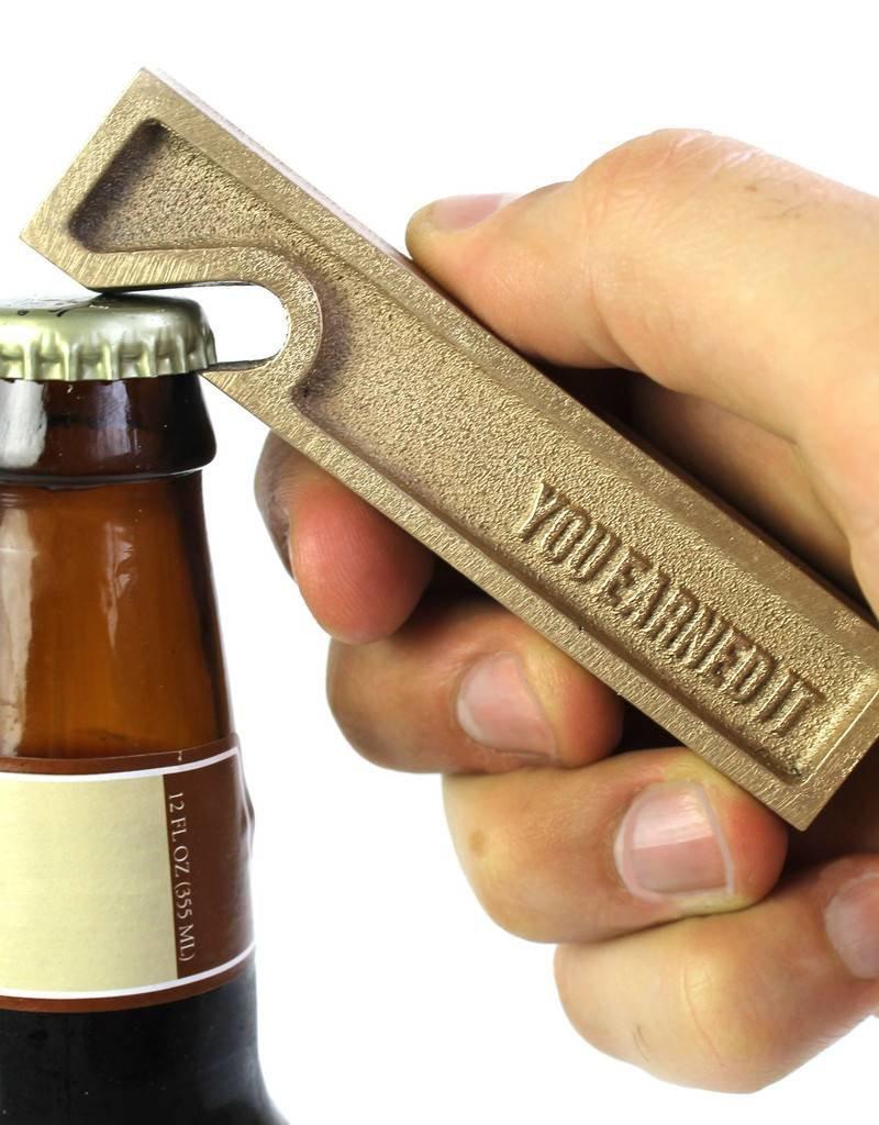 You Earned It Bottle Opener