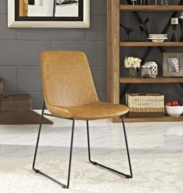 Invite Dining Side Chair in Tan