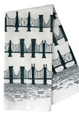 Bridge & Tunnel Dishtowel