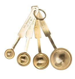 Gold Measuring Spoons