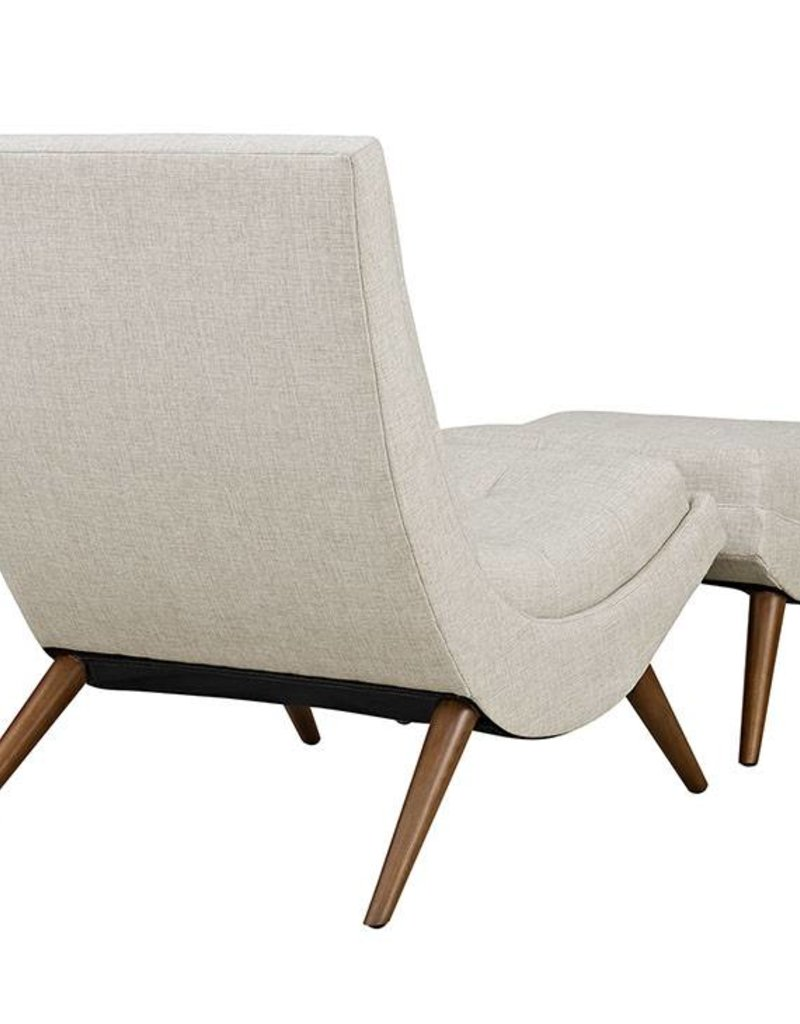 Ramp Chair with Ottoman