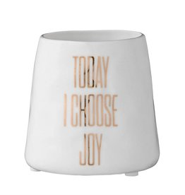 Today I Choose Joy Ceramic Votive