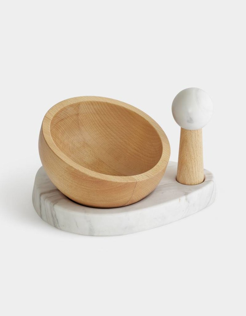 Crux Mortar and Pestle Natural