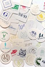 Boxed Letterpress Coasters