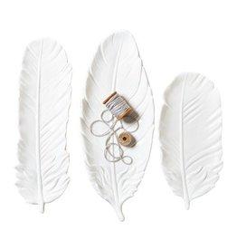 White Feather Tray