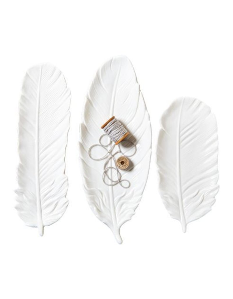 White Feather Tray