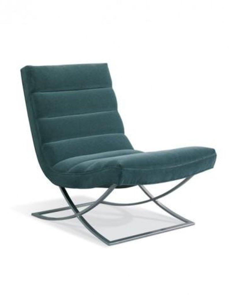 Felix Leather Armless Chair