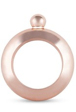 True Fabrications Rose Gold Bracelet Flask