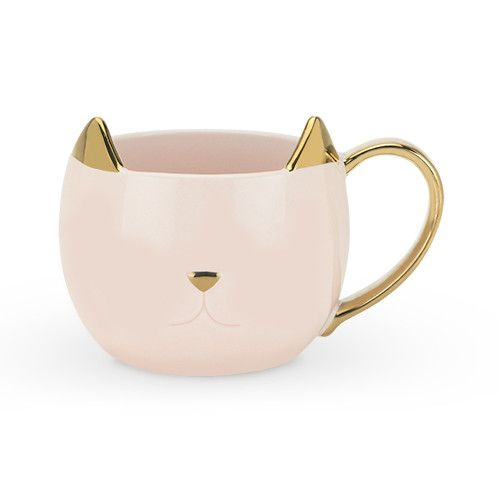 True Fabrications Chloe Pink Cat Mug
