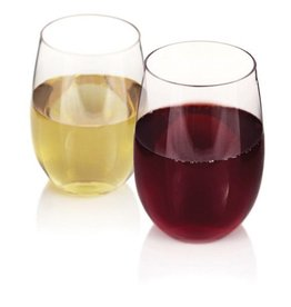 True Fabrications Flexi Stemless Wine Glasses