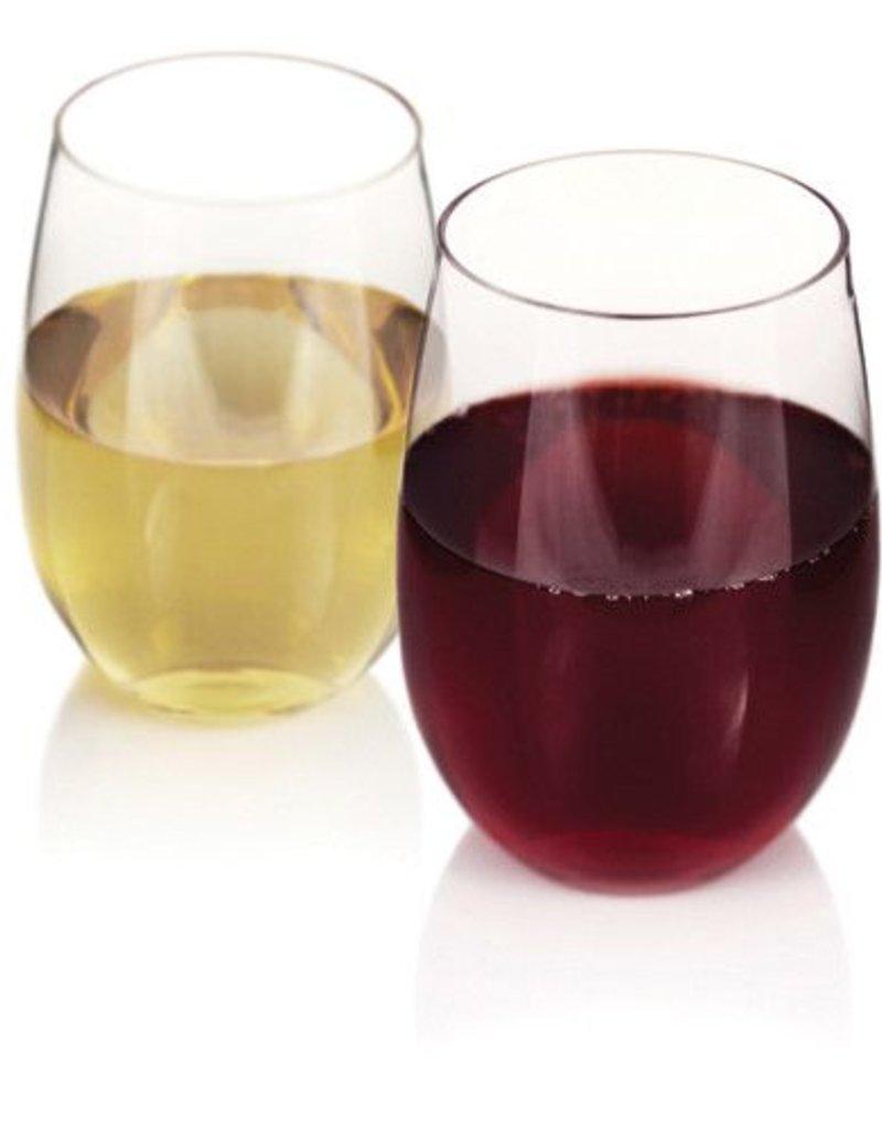 True Fabrications Flexi Stemless Wine Glasses