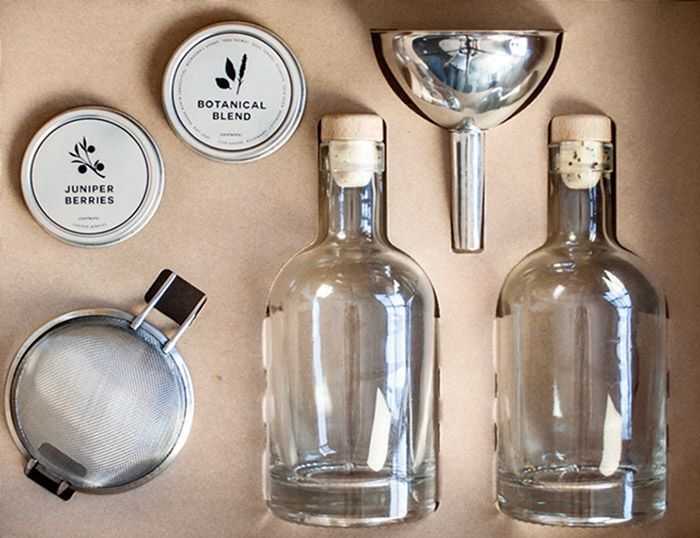 W & P Designs Homemade Gin Kit